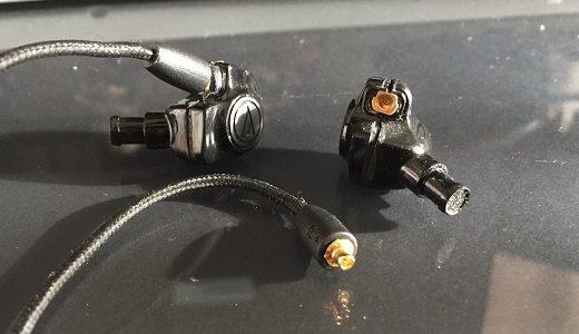 リケーブル対応してないイヤホンを改造してMMCX化する【IM50】
